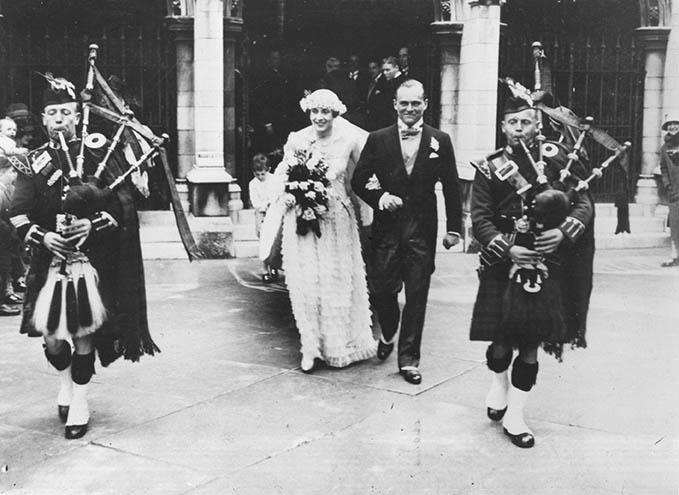 1928 Wedding Day