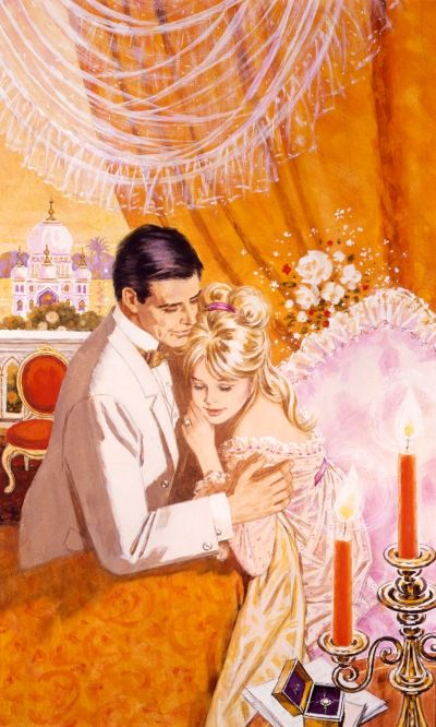 The Bride Runs Away by Barbara Cartland