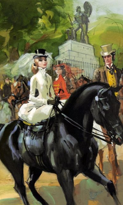 The Pretty Horse-Breakers by Barbara Cartland